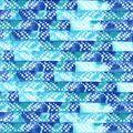 Nursery Cotton Fabric 43\u0027\u0027-Gordan Watercolor Geometric