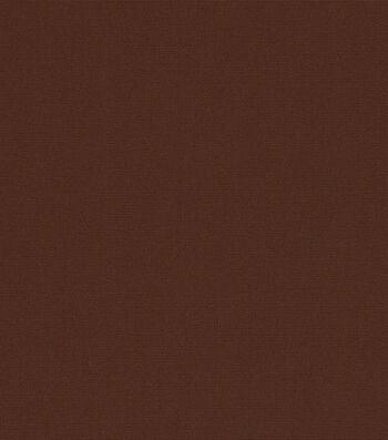 """Sunbrella Outdoor Solid Canvas Fabric 54""""-Bay Brown"""