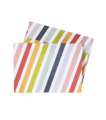 Park Lane A7 Envelopes-Diagonal Stripes