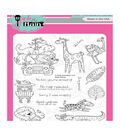 Pink & Main Clear Stamps 4\u0022X6\u0022-Wild Thing