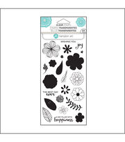 Hampton Art Layering Clear Stamp-Flower Joy, , hi-res