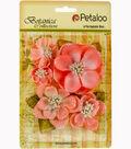 Botanica Sparkling Glitter Magnolia Mix 1.2\u0022 To 2.7\u0022-Coral