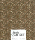 Fabric-Quarters Assorted Fabric-Tan