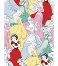 Disney Princess Flannel Fabric 42\u0022-Packed