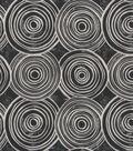 Robert Allen @ Home Print Fabric 55\u0022-Whimsy Circles Kohl