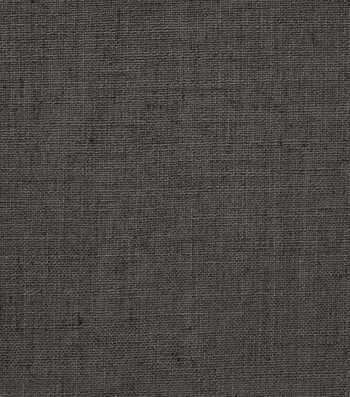 "Richloom Studio Fabric 55""-Swatch/Charcoal"