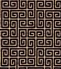 8\u0022x8\u0022 Swatch Upholstery Fabric Robert Allen-Plush Keys Black -Night Sky