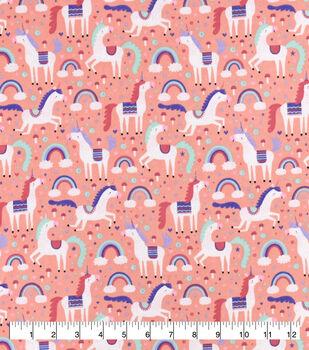Snuggle Flannel Fabric-Magic Unicorns