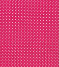 Quilter\u0027s Showcase Cotton Fabric -Pin Dots on Pink
