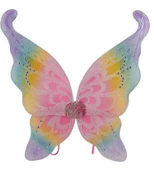 Maker's Halloween 16.5''x19'' Children's Wings-Rainbow