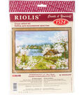 RIOLIS 9.5\u0027\u0027x7\u0027\u0027 Counted Cross Stitch Kit-Apple Blossoms