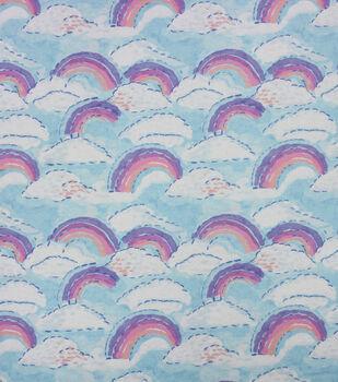 Super Snuggle Flannel Fabric-Watercolor Sky