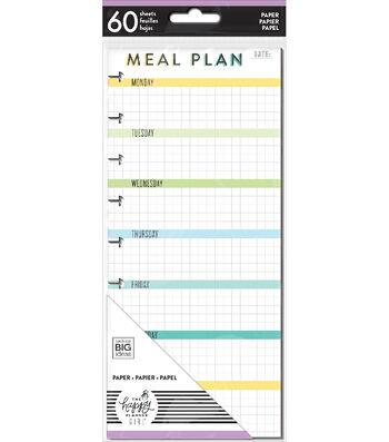 The Happy Planner Girl Half Note Paper-Healthy Hero