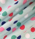 Doodles Juvenile Apparel Fabric 57\u0027\u0027-Dots on Aqua