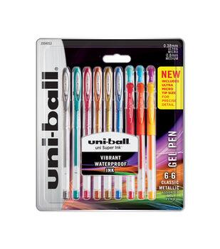 Uni-Ball Gel Pen Pack-12 Count