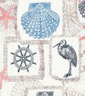 Novelty Cotton Fabric 43\u0027\u0027-Nautical Patchwork