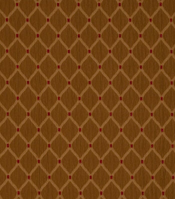 "Jaclyn Smith Upholstery Fabric 55""-Newark /Caramel"
