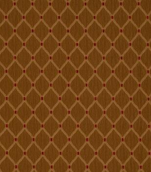"Jaclyn Smith Upholstery Fabric 55""-Newark /Caramel"