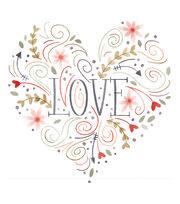 Cricut Large Heart Iron-On Design-Love, , hi-res