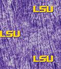 Louisiana State University Tigers Cotton Fabric -Tie Dye