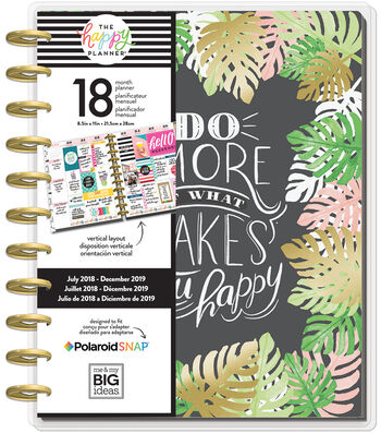Happy Planner 18-Month Dated Big Planner-Enjoy All the Things