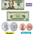 TREND enterprises, Inc. U.S. Money Bulletin Board Set, 2 Sets