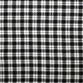 Super Snuggle Flannel Fabric-Melanie Black Plaid