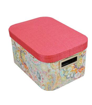 Organizing Essentials Medium Oval Storage Box-Boho Japonais