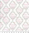 Nursery Cotton Fabric-Hazel Be Brave