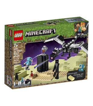 LEGO Minecraft The End Battle Set