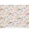 Novelty Cotton Fabric 45\u0022-Puppy Polka Dot