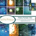 Reminisce Collection Kit 12\u0022X12\u0022-Fairy Forest w/Fireflies & Unicorn
