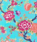 Buttercream™ Olivia Collection Cotton Fabric-Floral Bird