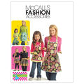 McCall\u0027s Patterns M5720 Misses\u0027 & Children\u0027s Full & Half Aprons