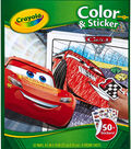 Crayola 10\u0027\u0027x8.5\u0027\u0027 Disney Pixar Cars 3 Color & Sticker Book
