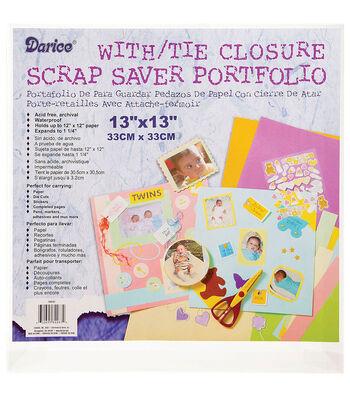 """Darice 13""""x13"""" Scrap Saver Portfolio"""