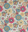 Home Essential Lightweight Decor Fabric 45\u0022-Niceville Panorama Deco Bery