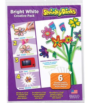 Shrinky Dinks Bright White Creative Pack