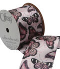 2 And One Qtr Garden 9 Ft Butterfly Ribbon