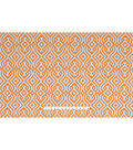 Home Essentials Lightweight Decor Fabric 45\u0022-Orange Clezar Panorama