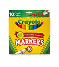 Crayola Broad Line Markers-Classic Colors 10/Pkg