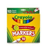 Crayola Broad Line Markers-Classic Colors 10/Pkg, , hi-res