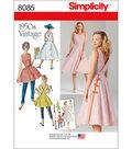 Simplicity Patterns US8085R5 Dresses-14-16-18-20-22