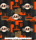 San Francisco Giants Cotton Fabric -Patch