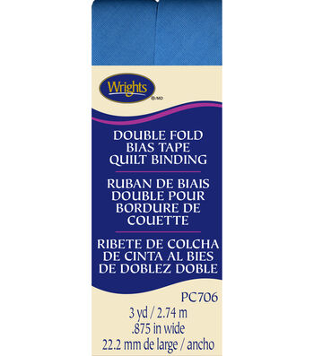Double Fold Quilt Binding 3 Yd Porcelain