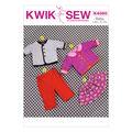 Kwik Sew Pattern K4080 Infants\u0027 Casual Outfits-Size S-XXL