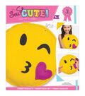 Sew Cute! Felt Pillow Kit-Emoji Wink
