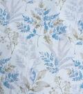 Silky Stretch Chiffon Fabric-Soft Muted Stems