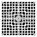 The Crafter\u0027s Workshop Rebekah Meier 6\u0027\u0027x6\u0027\u0027 Stencil-Mesh Blocks