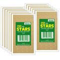 1/2\u0022 Gold Presto-Stick Foil Star Stickers 12 Packs